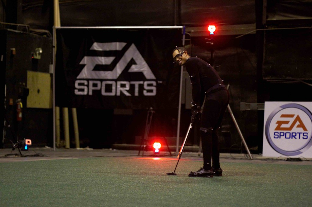 Tiger Putting Motion Capture