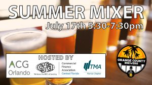 2018 Summer Mixer   Association for Corporate Growth @ Orange County Brewers