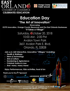 EOCC presents Education Day 2018 @ Avalon Town Park