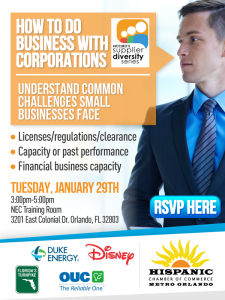 How To Do Business with Corporations @ NEC Training Room