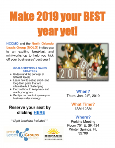 Make 2019 your BEST year yet! @ Perkins Meeting Room