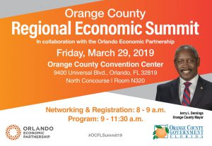 Orange County Regional Economic Summit @ Orange County Convention Center, North Concourse Room N320