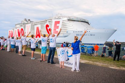 Harmony leaves Port Canaveral