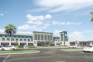 Teaching Hospital Rendering