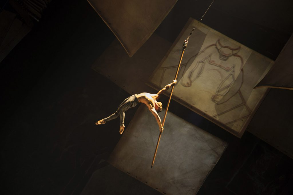 Drawn to Life by Cirque du Soleil's