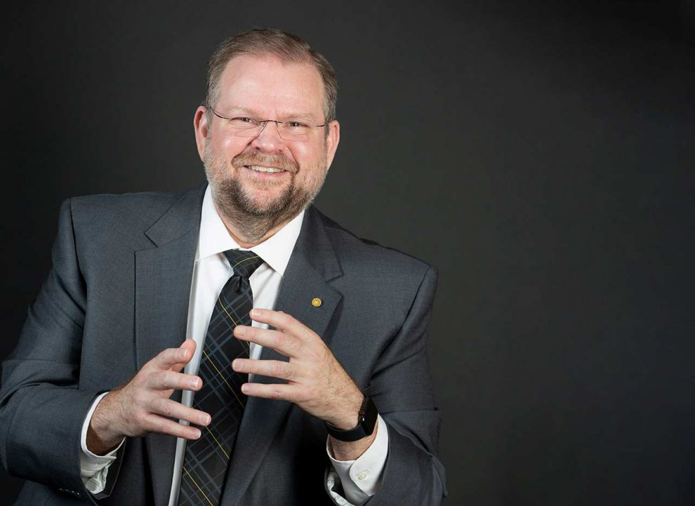 Picture of Alexander Cartwright, president of University of Central Florida